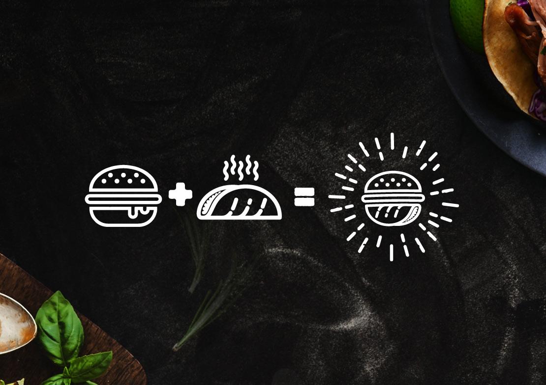 Braai cocina construcción de marca(branding) para negocio de comida